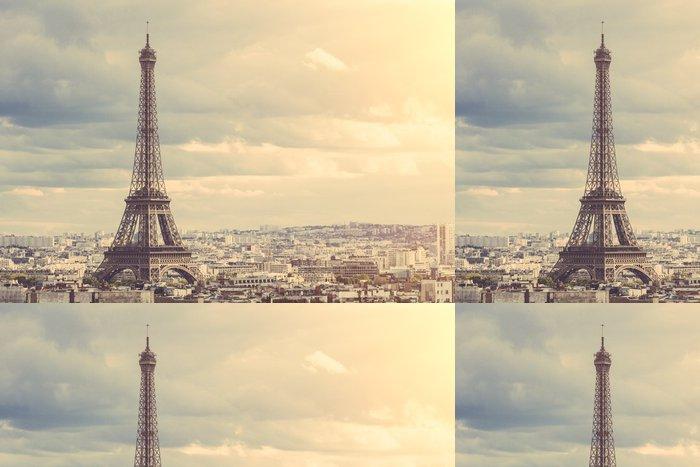 Tapeta Pixerstick Eiffelova věž v Paříži - Témata