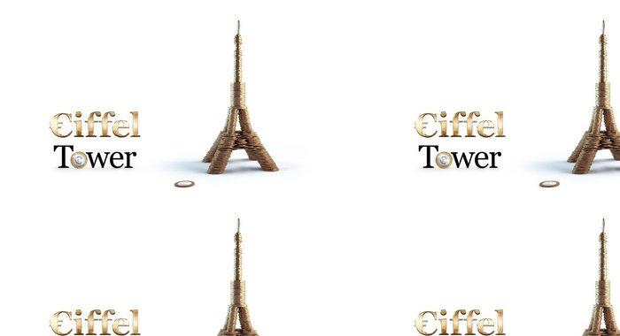 Tapeta Pixerstick Eiffelova věž z conis - Památky