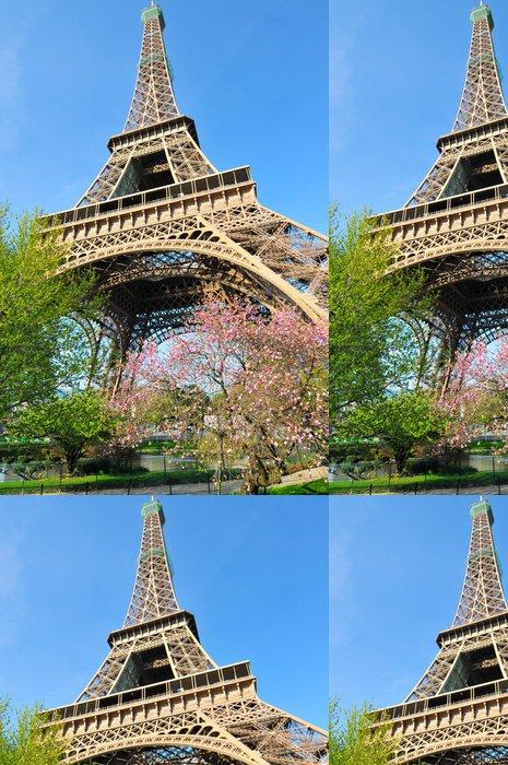 Tapeta Pixerstick Eiffelova věž - Evropská města
