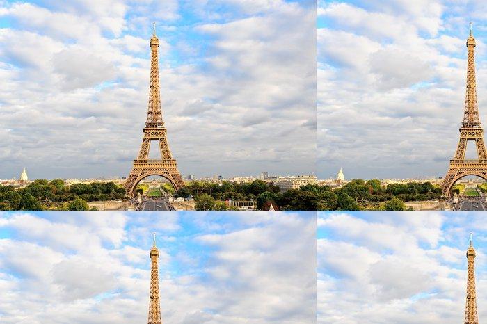 Tapeta Pixerstick Eiffelova věž - Témata