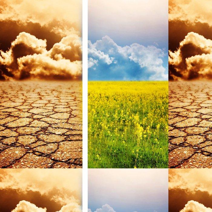 Tapeta Pixerstick Ekologické katastrofy - Nebe