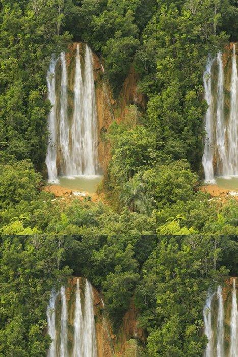 Tapeta Pixerstick El Salto de Limon vodopád, Dominikánská republika - Voda