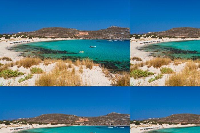 Vinylová Tapeta Elafonissos pláž, Peloponés, Řecko - Evropa