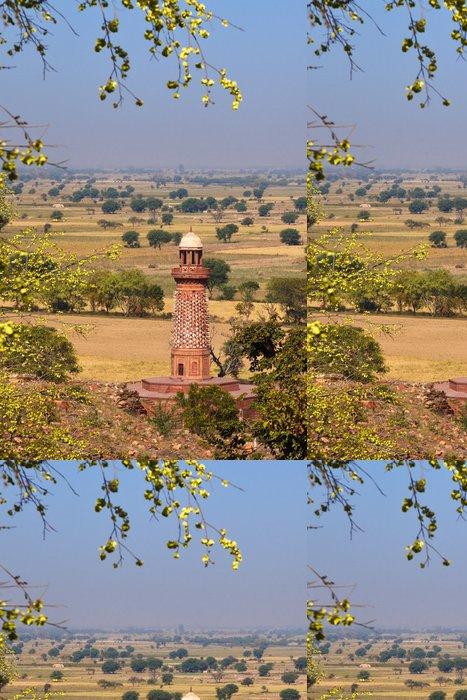 Tapeta Pixerstick Elephant Tower v Agra Red Fort - Asie