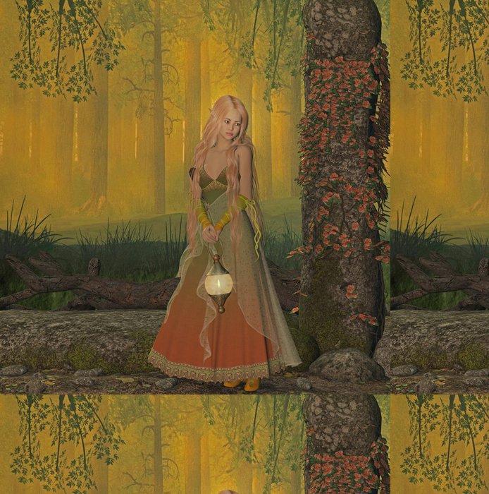 Tapeta Pixerstick Elf v lese - Osud
