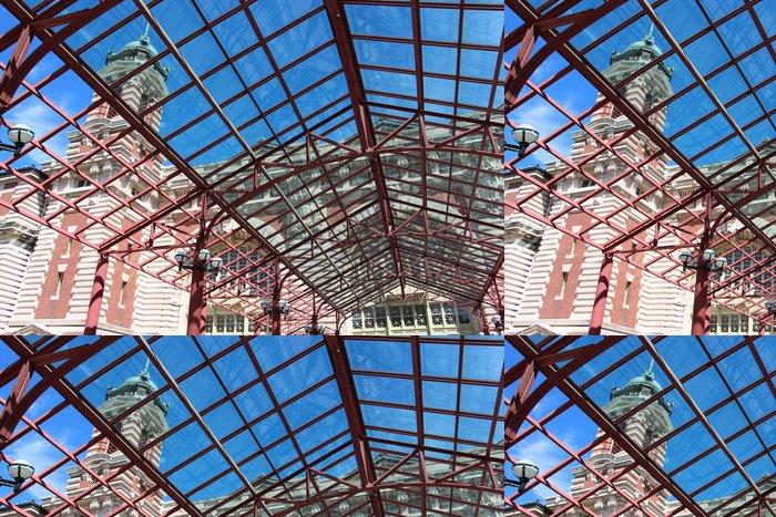 Tapeta Pixerstick Ellis Island v New Yorku - Prázdniny