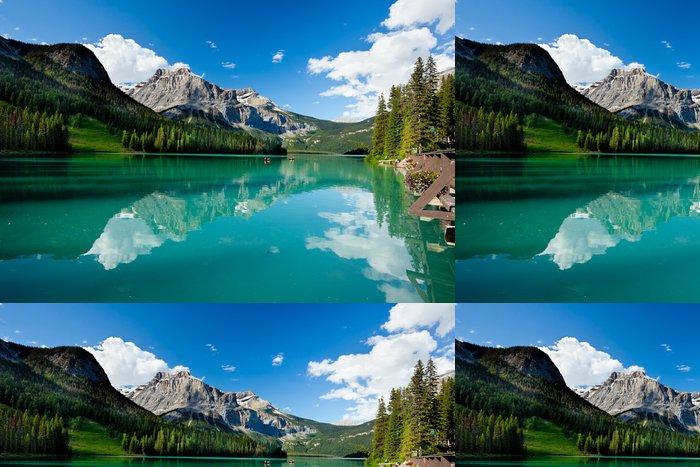 Tapeta Pixerstick Emerald lake - Amerika