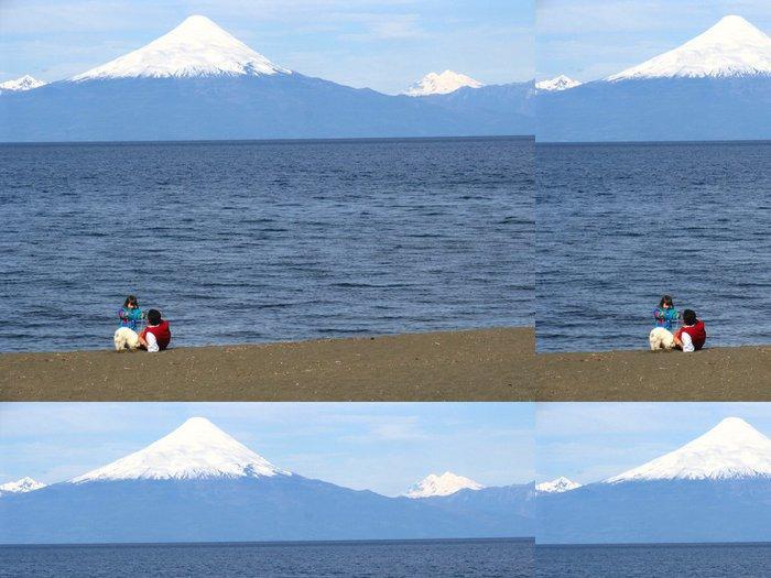 Tapeta Pixerstick En la Orilla del Lago Llanquihue - Amerika