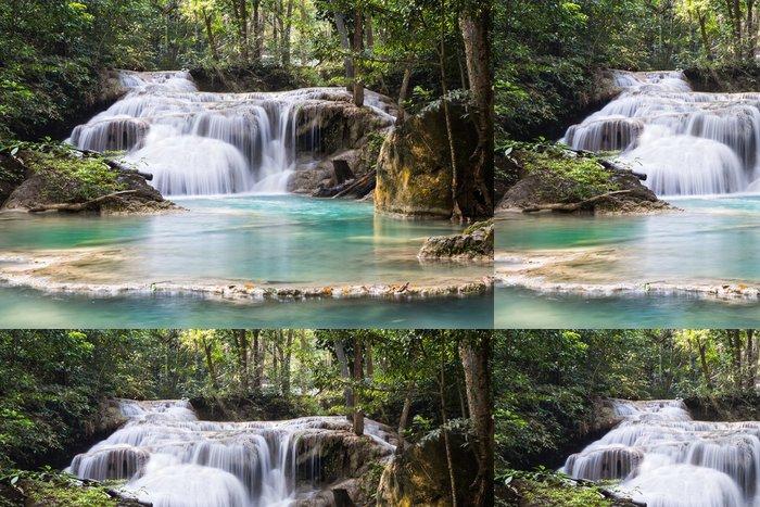 Tapeta Pixerstick Erawan Water pád v Thajsku - Asie