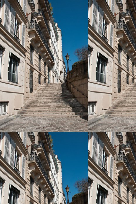Tapeta Pixerstick Escaliers do Paříže - Evropská města