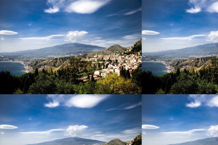 Tapeta Pixerstick Etna - Hory