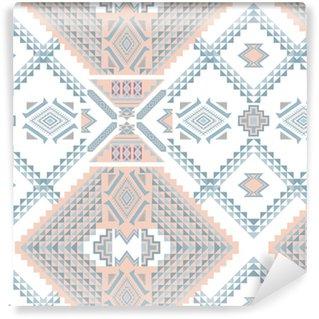 Vinylová Tapeta Etnický geometrický vzor, kmenový bezproblémový vzor