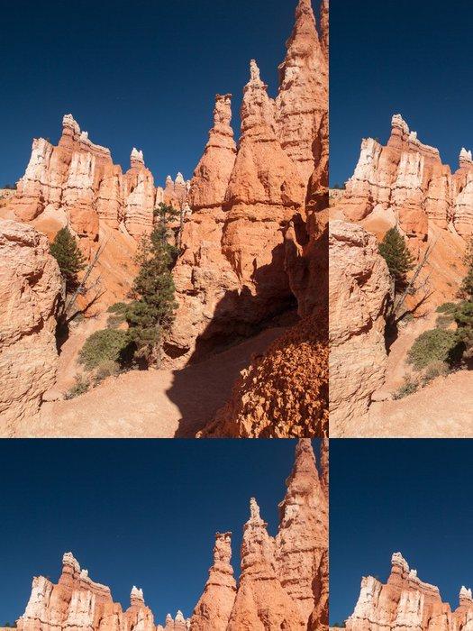 Tapeta Pixerstick Falaises et Sentier dans Bryce Canyon - Amerika
