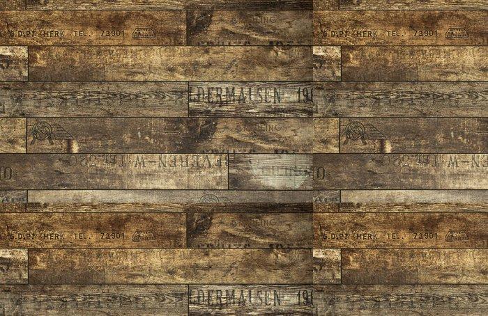 Tapeta Pixerstick Falešný dřevěná stěna - Témata