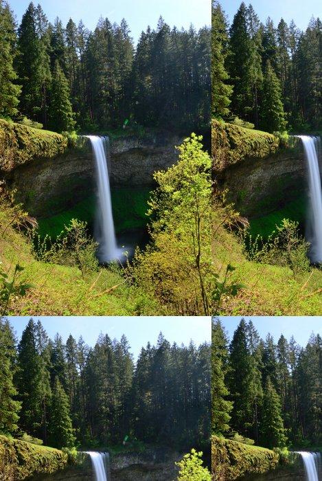 Tapeta Pixerstick Falls. USA. Oregon State. - Voda