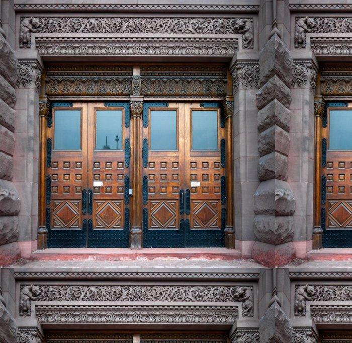 Vinylová Tapeta Fasáda staré budovy, Toronto, Ontario, Kanada - Soukromé budovy