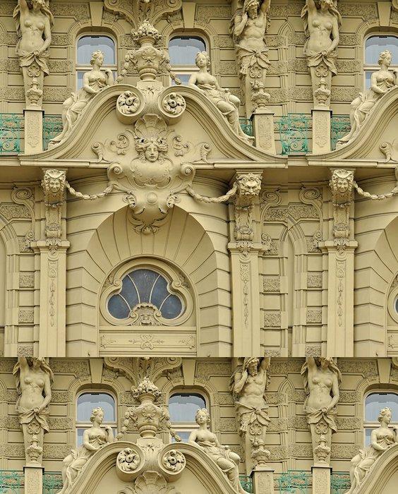 Tapeta Pixerstick Fasáda v Praze # 3687a - Evropská města