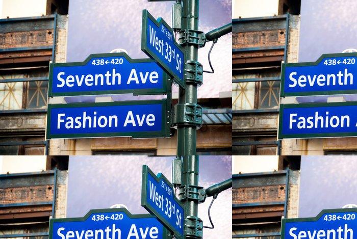 Tapeta Pixerstick Fashion Ave, 34. St, sedmého Ave. - Cestování