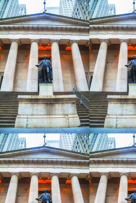 Tapeta Pixerstick Federal Hall National Memorial na Wall Street v New Yorku - Amerika