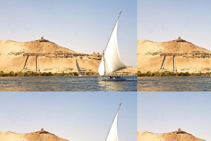 Tapeta Pixerstick Felucca na Nilu - Afrika