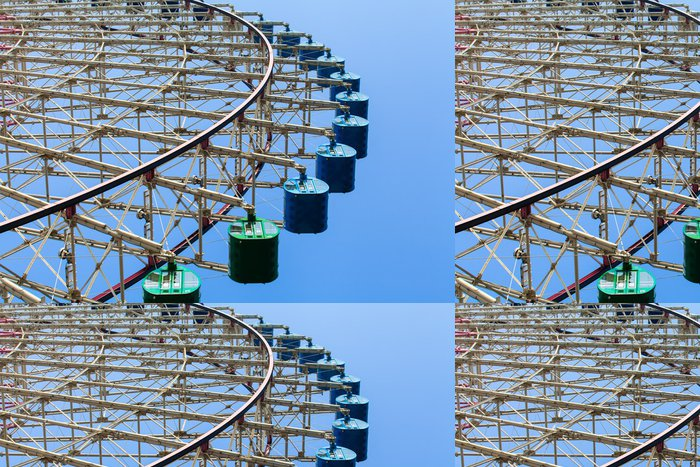 Tapeta Pixerstick Ferris Wheel - Abstraktní