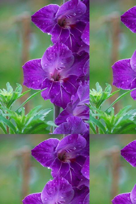 Tapeta Pixerstick Fialová krása - Květiny