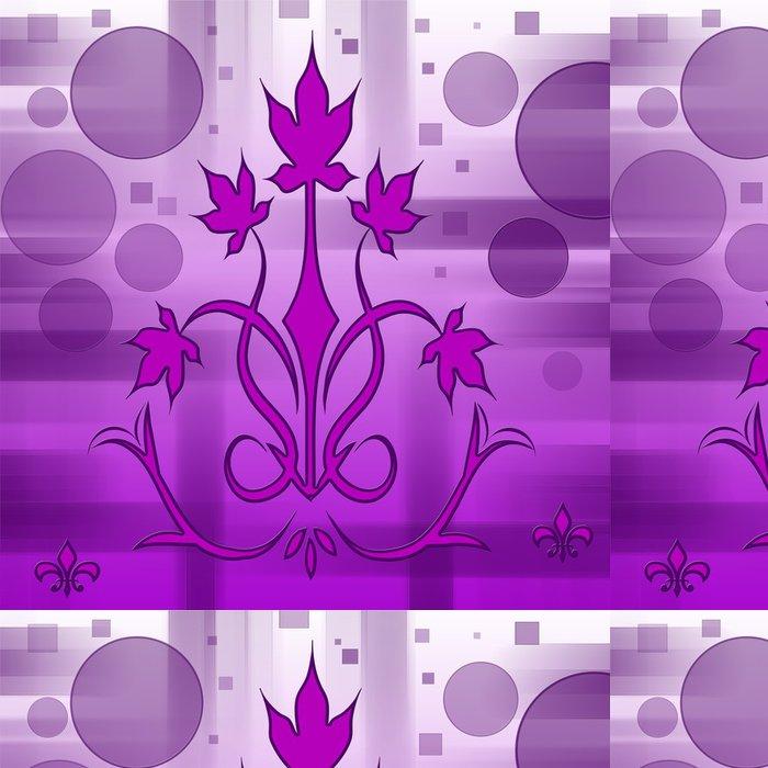 Tapeta Pixerstick Fialový květ textury - Jiné pocity