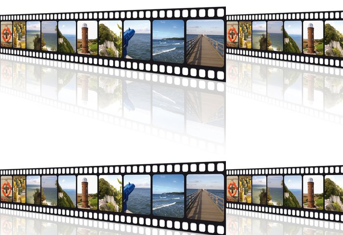 Tapeta Pixerstick Filmstreifen Rügen - Evropa
