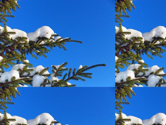 Tapeta Pixerstick Fir tree - Roční období