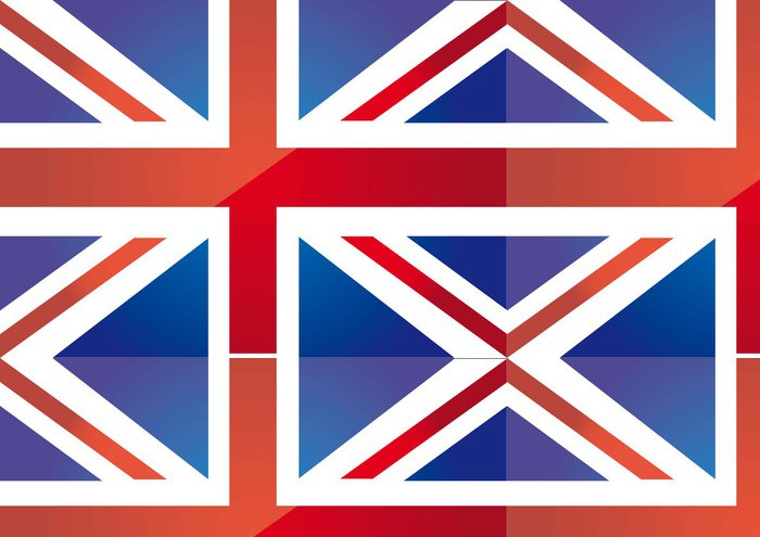 Tapeta Pixerstick Flag london - Národní vlajky