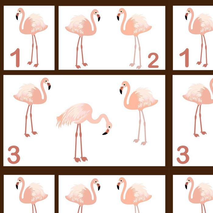 Tapeta Pixerstick Flamingo set - Vzdělávání