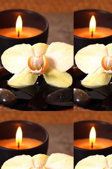 Tapeta Pixerstick Flamma a orchideje - Osud