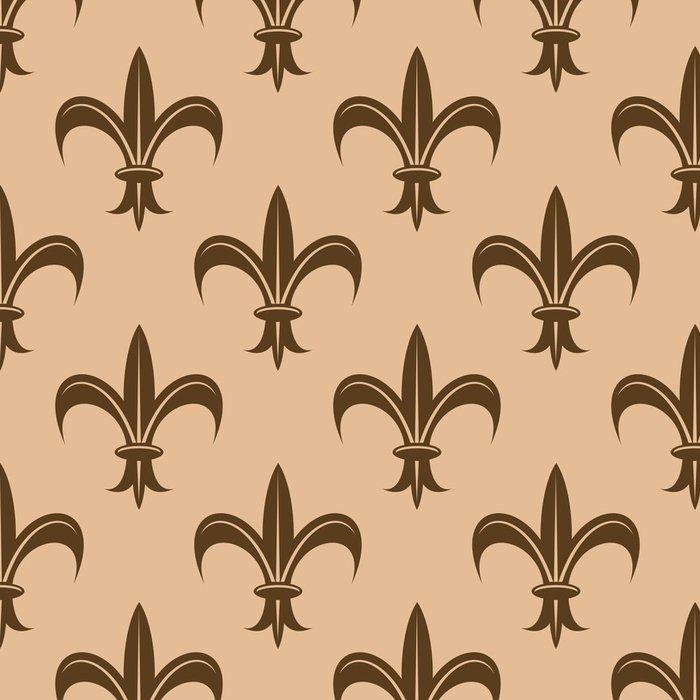 Vinylová Tapeta Fleur de Lys vzor bezešvé - Pozadí
