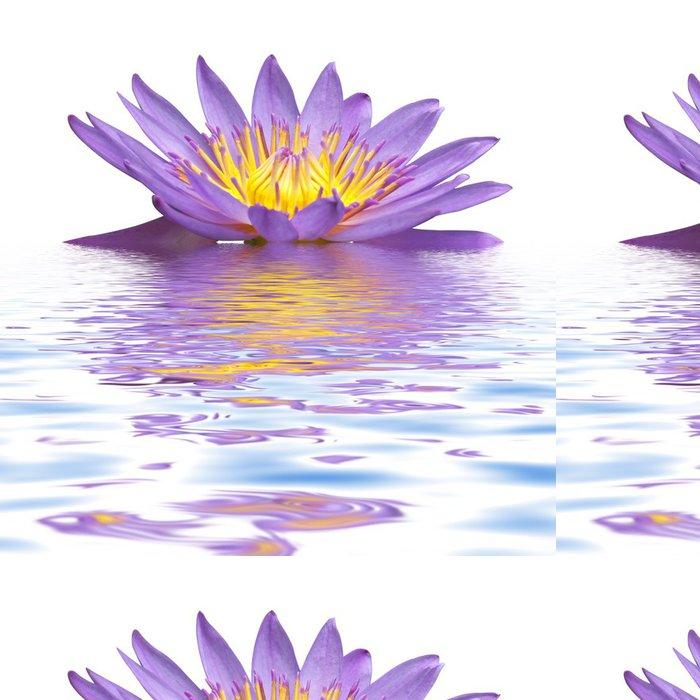 Vinylová Tapeta Fleur lila de Nymphea -