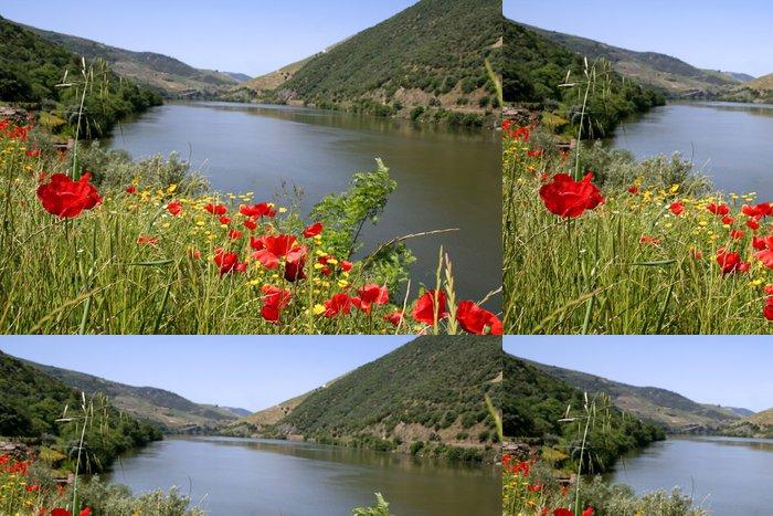 Tapeta Pixerstick Fleurs et Douro - Voda