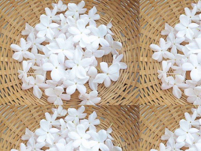 Tapeta Pixerstick Flor de Jazmín - Květiny
