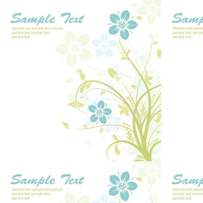 Vinylová Tapeta Floral abstraktní pozadí, vektor - Národní svátky