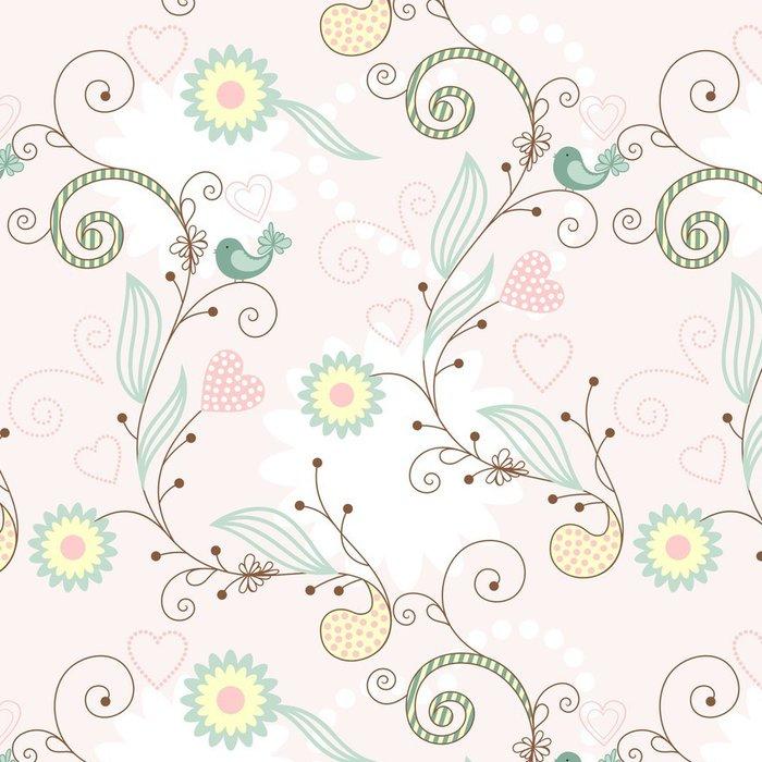 Vinylová Tapeta Floral_magic - Pozadí