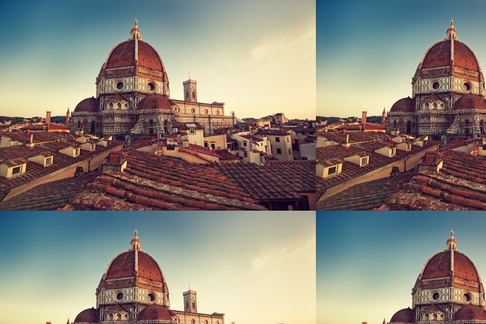 Tapeta Pixerstick Florence, Santa Maria del Fiore, Firenze, Italia - Témata