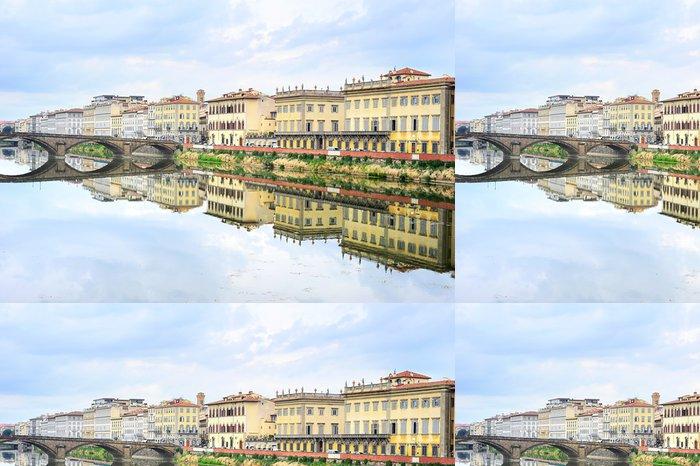 Tapeta Pixerstick Florencie Panoráma - Evropa