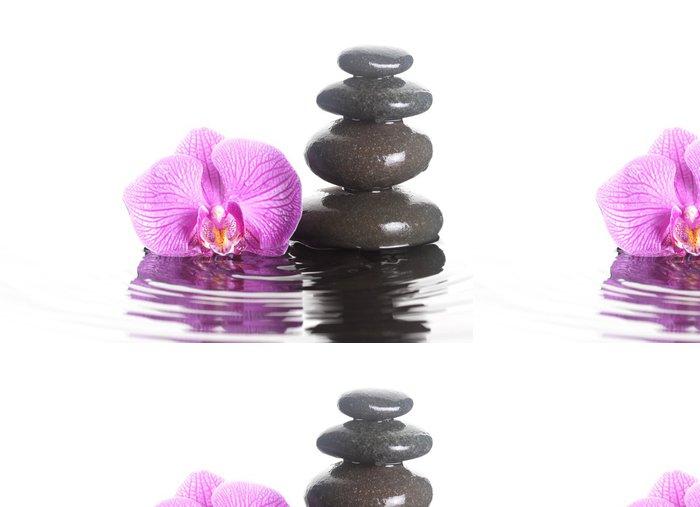Tapeta Pixerstick Flower a kameny ve vodě - Náboženství