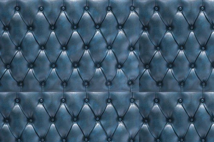 Tapeta Pixerstick Fond čalounění Cuero přírodní modrá - Pozadí