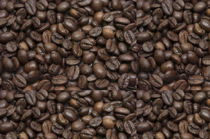 Tapeta Pixerstick Fond, textura přírodní, granos de café - Horké nápoje