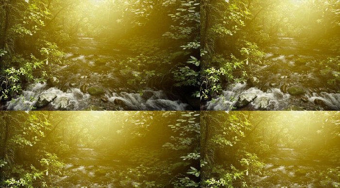 Vinylová Tapeta Forest Light - Témata