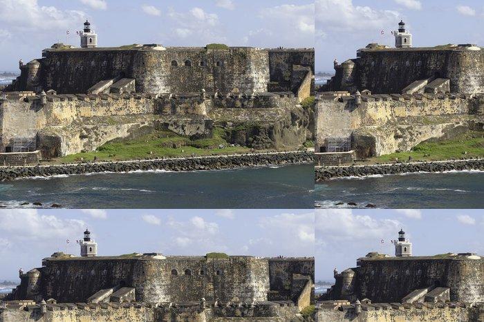 Tapeta Pixerstick Fort San Felipe del Morro v Puerto Rico - Amerika