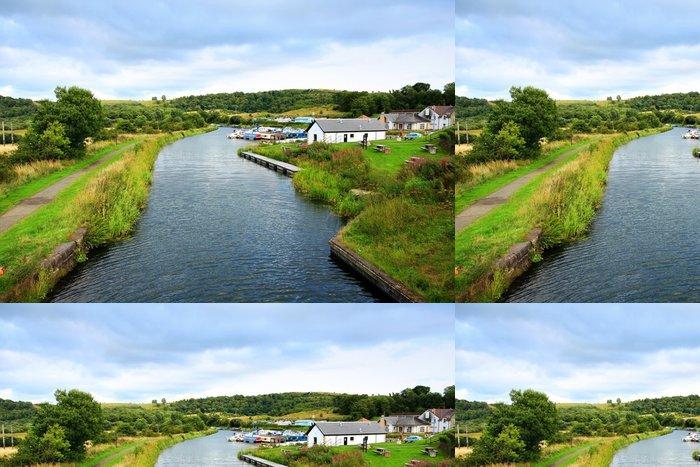 Tapeta Pixerstick Forth a Clyde kanál, Skotsko - Evropa