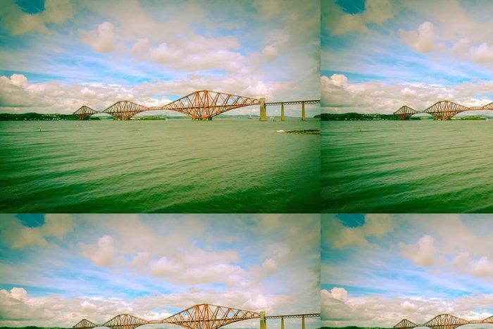 Tapeta Pixerstick Forth železniční most poblíž Edinburghu - Témata