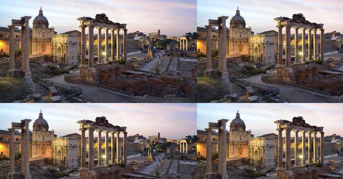 Tapeta Pixerstick Forum Romanum, Řím - Témata