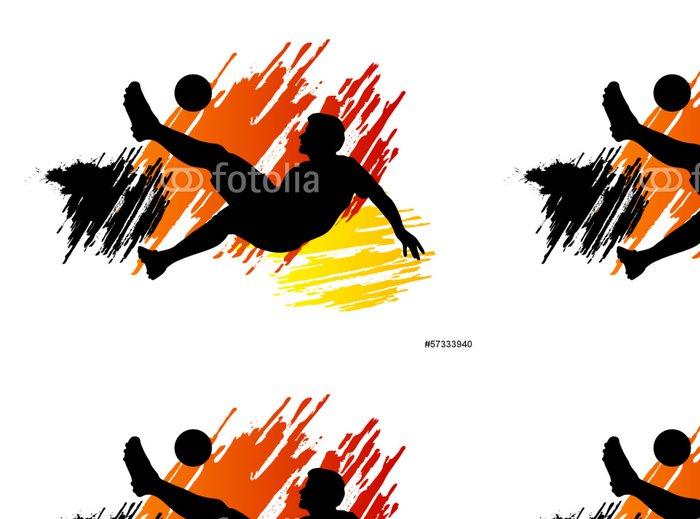 Tapeta Pixerstick Fotbal - Fotbal - 127 - Týmové sporty