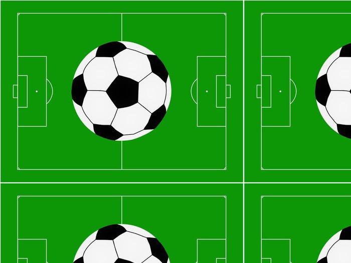Tapeta Pixerstick Fotbal na hřišti obrázku - Pozadí